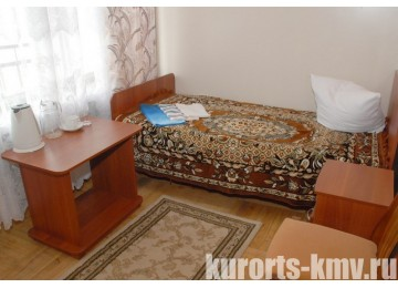 Санаторий «Им. Анджиевского» Стандарт 1-местный 1-комнатный 2 категории (Корпус №20)