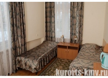 Санаторий «Им. Анджиевского»  Стандарт 2-местный 1-комнатный 2 категории (Корпус №15)