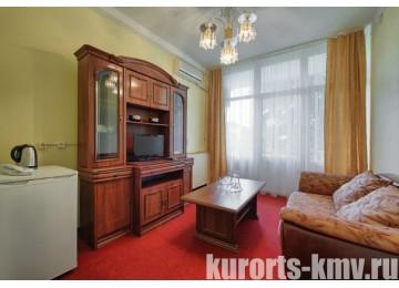 Санаторий «Им. Анджиевского» Люкс 2-местный 2-комнатный (Корпус №15)