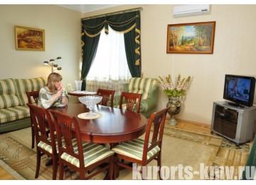 Санаторий «Им.Сеченова» Ессентуки Люкс 2-местный 2-комнатный (№221,223)
