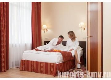 "Санаторий «Шахтер» Ессентуки 2-местный 1-комнатный стандарт бизнес Корпус №2 ""Европейский"""