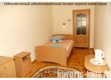 Санаторий «Целебный ключ» Ессентуки Стандарт 1-местный 1-комнатный 1 категории