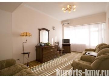 Санаторий «Украина» Ессентуки Люкс улучшенный 2-комнатный