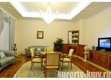 Санаторий «Долина Нарзанов» Кисловодск Сьют 2-местный 3-комнатный корп.6