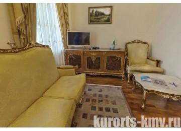 Санаторий «Долина Нарзанов» Кисловодск Люкс 1-местный 1-комнатный корп.Гемо
