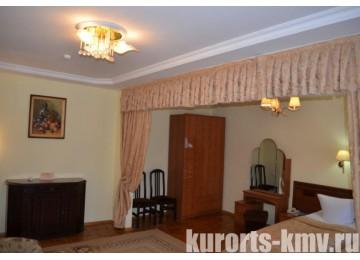 Санаторий «Кругозор» Кисловодск Студия 2-местный корп.5 (люкс)