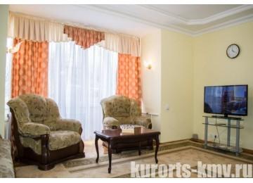 Санаторий «Кругозор» Кисловодск Люкс 2-местный 2-комнатный корп.5 (люкс)