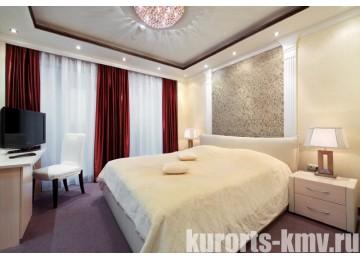 Санаторий «Плаза» Кисловодск Апартамент «Европа» 2-местный 4-комнатный