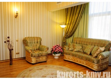 Санаторий «Целебный Нарзан» Кисловодск 2-местный 2-комнатный Синдика люк