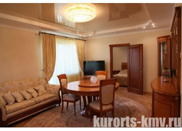 Санаторий «Целебный Нарзан» Кисловодск 2-местный 2-комнатные апартаменты