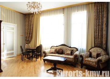 Санаторий «Целебный Нарзан» Кисловодск 2-местный 2-комнатный посольский люкс