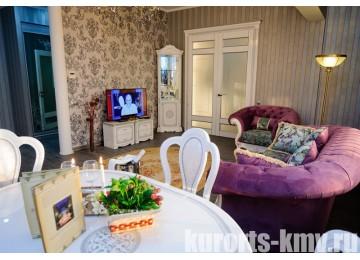 Санаторий «Целебный Нарзан» Кисловодск 2-местный 3-комнатный Серебрянный люкс