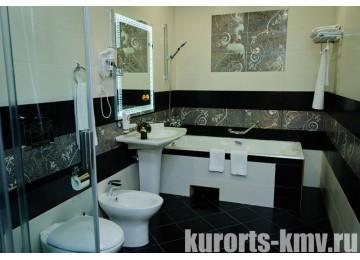 Санаторий «Целебный Нарзан» Кисловодск 2-местный 3-комнатный Золотой люкс