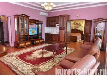 Санаторий «Центросоюза» Кисловодск Апартамент 2-местный 3-комнатный корп.3