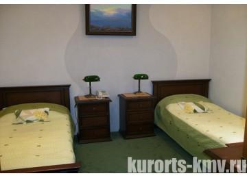 Санаторий «Галерея Палас» Пятигорск Стандарт 2-местный 1-комнатный