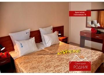 Санаторий «Родник» Пятигорск Люкс 2-местный 2-комнатный корпус 10 лит.А