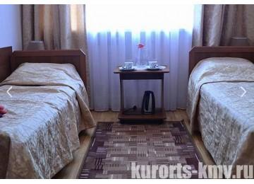 Санаторий «Руно» Пятигорск 2-местный стандарт (пристройка)
