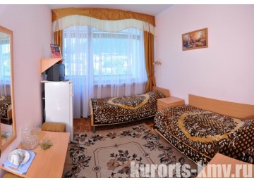Санаторий «Зори Ставрополья» Пятигорск Стандарт 2-местный 1-комнатный 2 категории