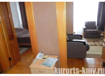Санаторий «Дубрава» Железноводск Люкс 2-местный 2-комнатный