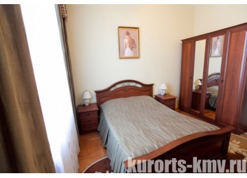 Санаторий «Им. Кирова» г. Железноводск Люкс 2-местный 3-комнатный