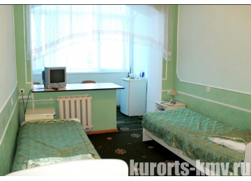 Санаторий «Здоровье» Железноводск Стандарт 2-местный 1-комнатный 1 категории (корпус 1)