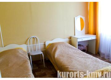 Санаторий «Здоровье» Железноводск Стандарт 2-местный 2-комнатный 1 категории (корпус 1)