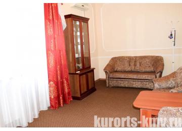 Санаторий «Здоровье» Железноводск Люкс 2-местный 2-комнатный (корпус 1)